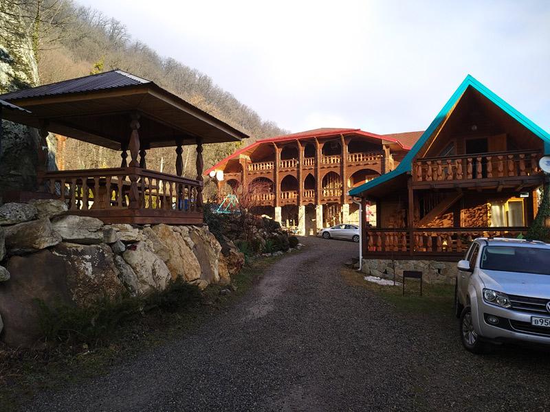 Дом у горы
